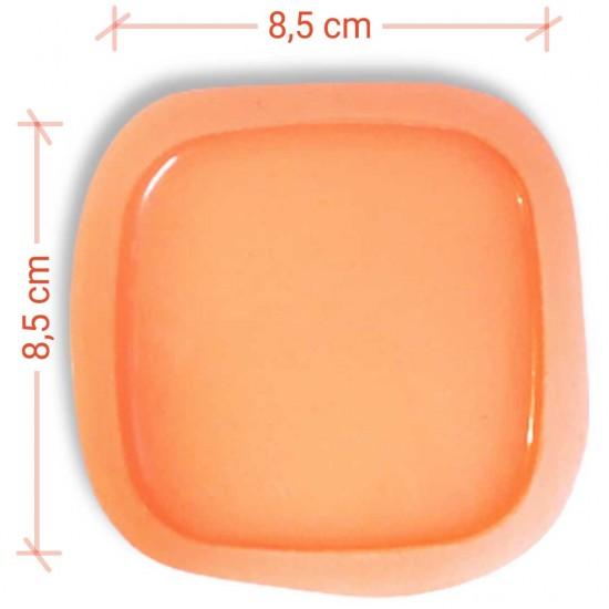 Bardak Altığı Silikon Kalıbı  8,5cm*8,5cm